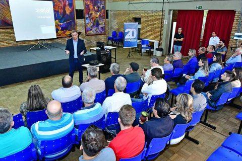 A apresentação aconteceu na manhã de ontem e reuniu empresários locais e representantes da Prefeitura Municipal/Fernando Gomes