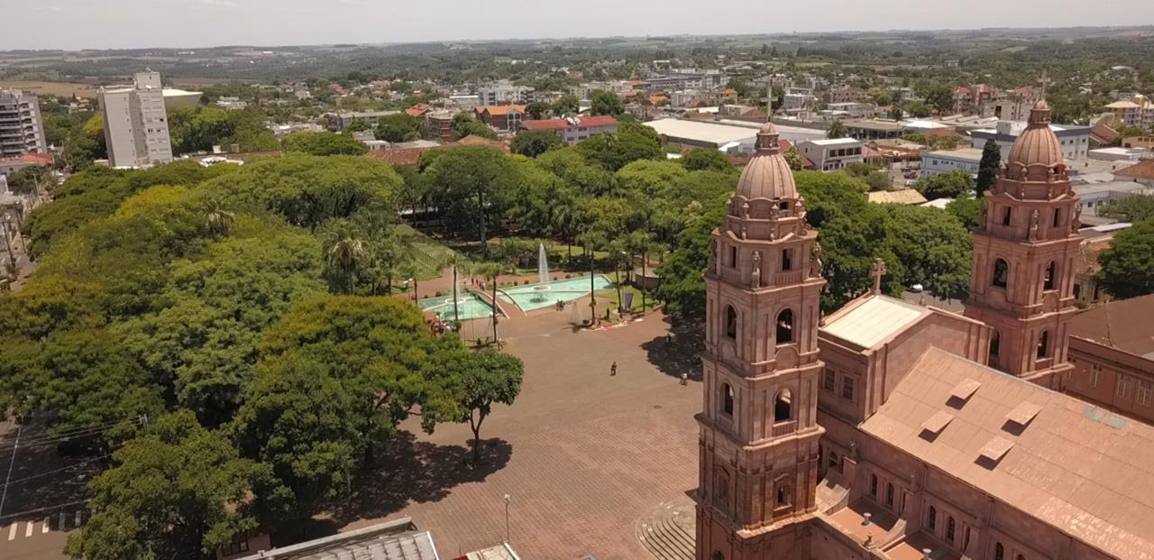 Vista atual da Praça registrada pelas lentes de Guilherme Rocha