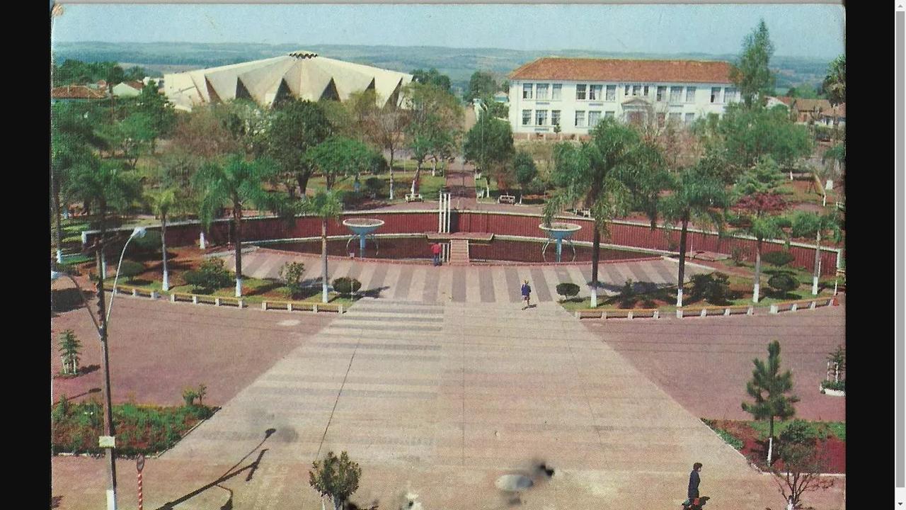 Cartão Postal do Centenário de Santo Ângelo - 1973/Foto Litográfica Ltda.