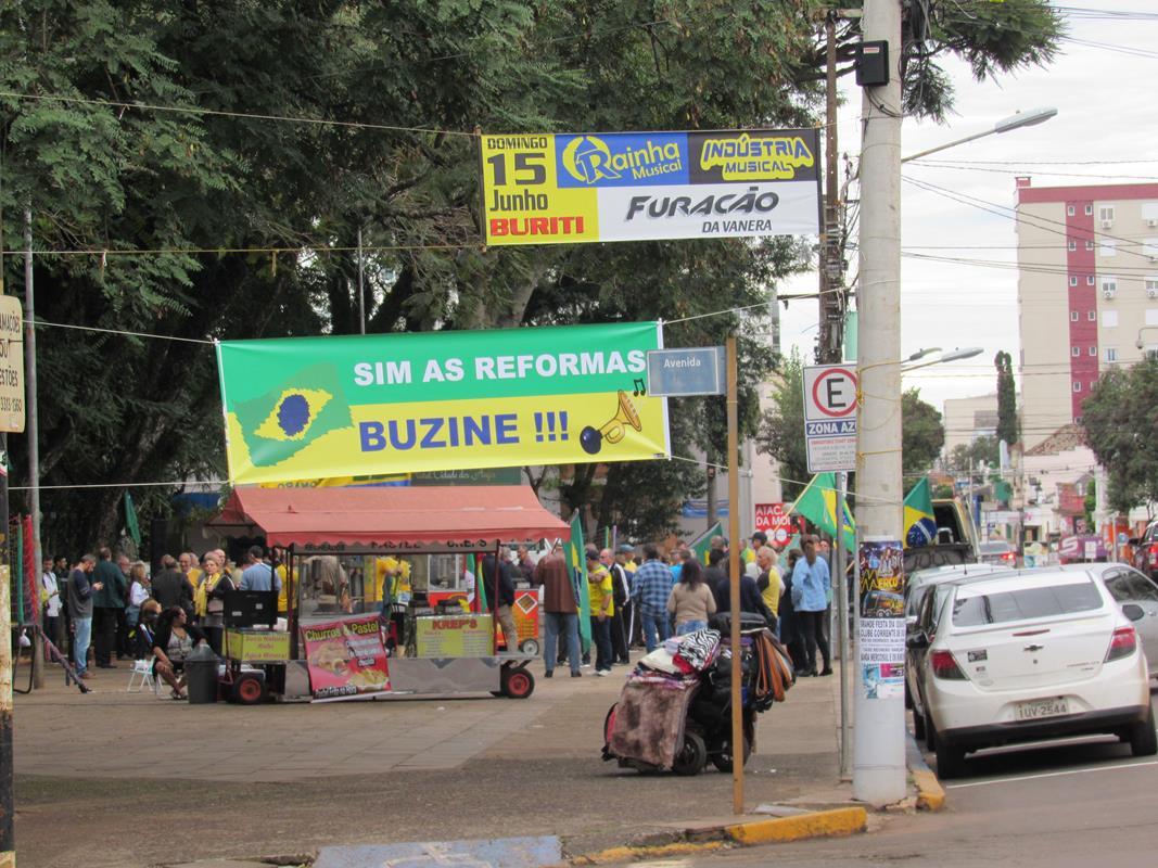 Manifestação em apoio a bolsonado (Copy)