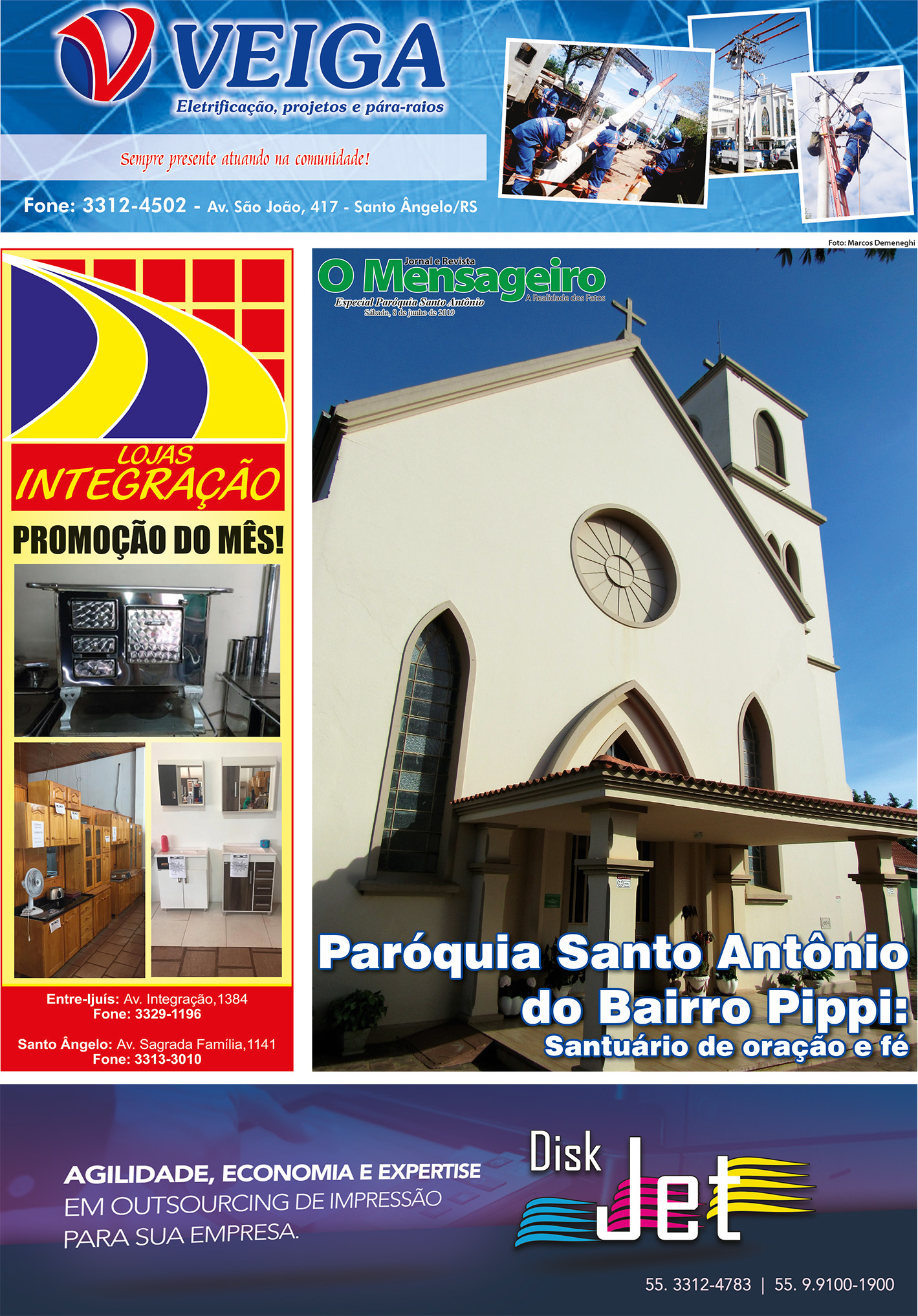Especial Paróquia Santo Antônio 2019.indd