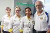 Maria de Lourdes Bassani, Seloni Morari, Cristina Santos e Flávio Santos estiveram na última segunda-feira, dia 17, no JOM, divulgando o evento