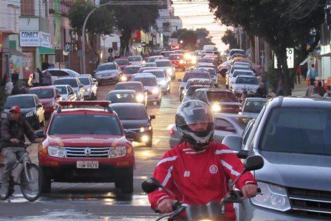 Rua Marechal Floriano em Santo Ângelo - Foto: Marcos Demeneghi