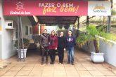 1 - Parceria foi ajustada entre a equipe da Secretaria Municipal de Cultura e a primeira-dama Juliana Barbosa - Foto Divulgação