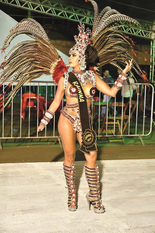 Rainha do carnaval de Santo Ângelo (2019) - Foto : Fernando Gomes