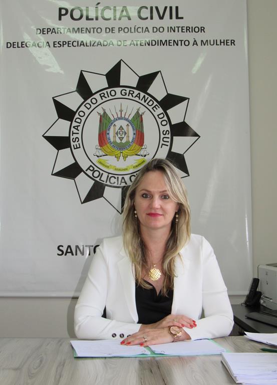 Delegada Elaine Maria da Silva - DEAM - Santo Ângelo - Foto Marcos Demeneghi