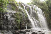 Cascata do Rio Comandai, localizada na zona rural entre os municípios de Santo Ângelo e Giruá - Foto Marcos Demeneghi