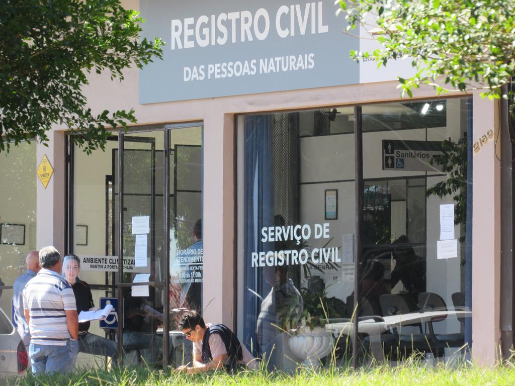 Cartório de Registro civil de Santo Ângelo na Av. Getúlio Vargas