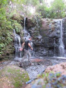 Cascata da Casusa - Na localidade de Rincão dos Moscon, interior de Santo Ângelo, RS - Foto: Marcos Demeneghi