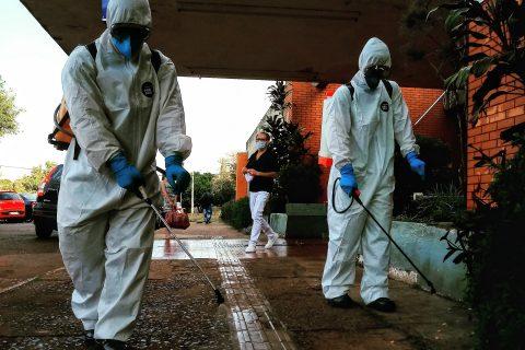 Barreiras sanitárias tentam conter a pandemia de COVID-19 em Santo Ângelo