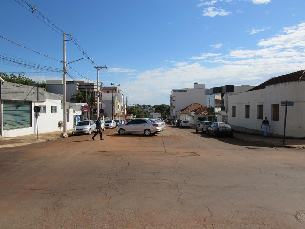 Rua Antônio Manoel próximo ao Hospital Santo Ângelo