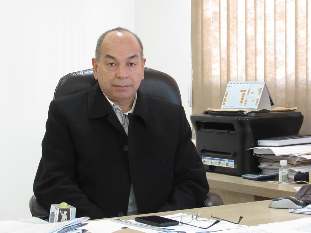 Rudinei Cesar Paz - Tesoureiro do Lar da Velhice Isabel Oliveira Rodrigues