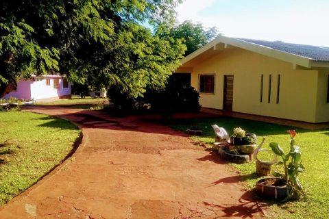 Sede do Centro de Acolhimento Martinho Lutero no interior de Entre-Ijuís - Foto: Arquivo da instituição
