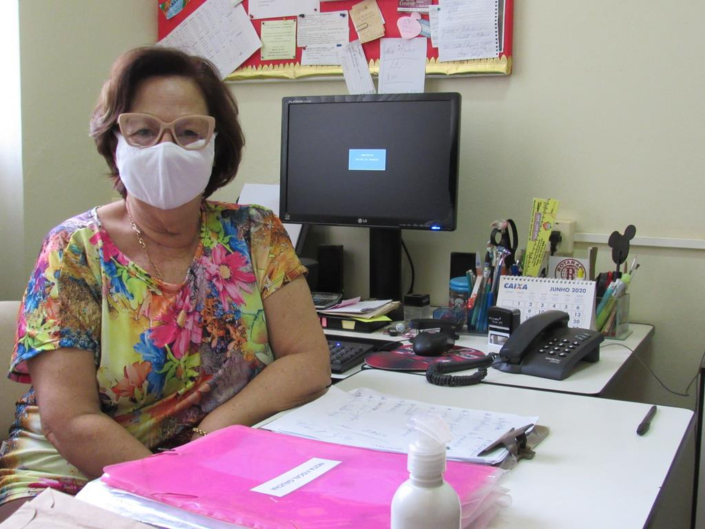 Vice-diretora Social - Geslaine Guarani
