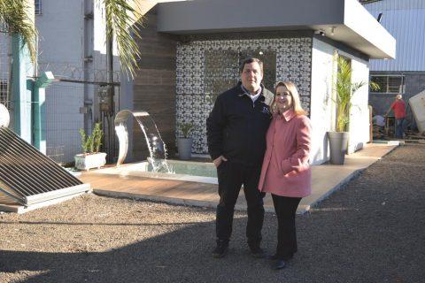Diego Rodrigues e Daiana Simor da Rocha