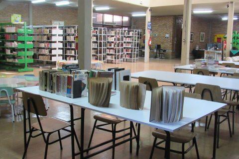 Biblioteca Pública Policarpo Gay em Santo Ângelo Foto: Marcos Demeneghi