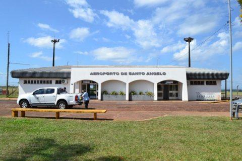 Aeroporto Regional Sepé Tiaraju em Santo Ângelo - Novo terminal de passageiros terá área cerca de três vezes maior do que o atual - Foto: Divulgação Selt