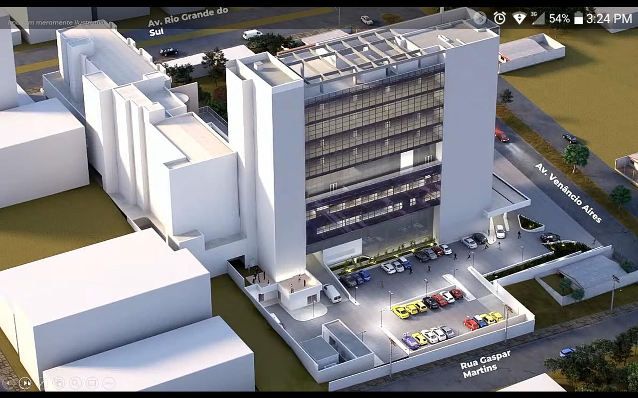 Reprodução feita a partir do vídeo apresentado no lançamento