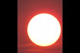 Atmosfera deixa o sol com aparência vermelha em Santo Ângelo  - Foto: Marcos Demeneghi (setembro 2020)