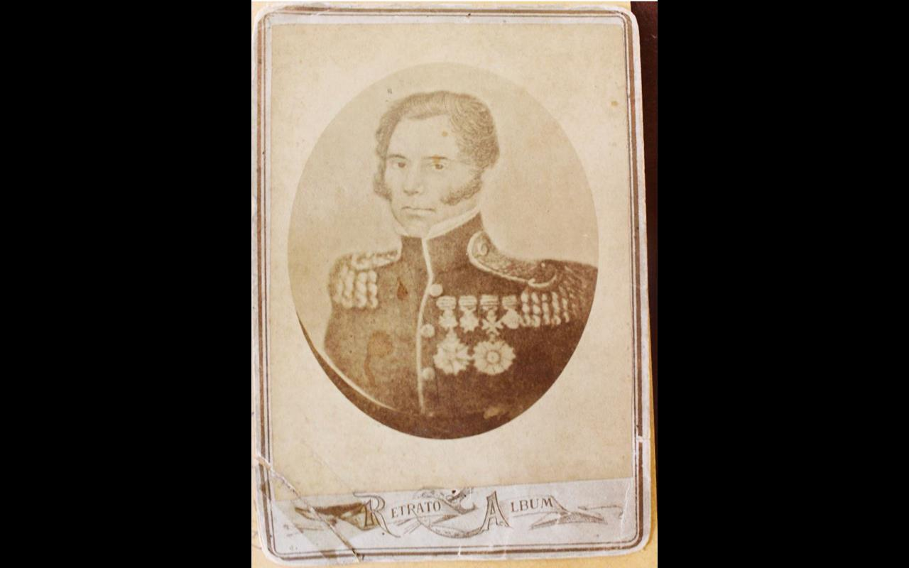 Foto doada por Borges de Medeiros ao museu Júlio de Castilhos. Pertenceu a um bisneto do General - Foto - Foto - Édson Hüttner Reprodução da imagem original do Arquivo Histórico do Rio Grande do Sul