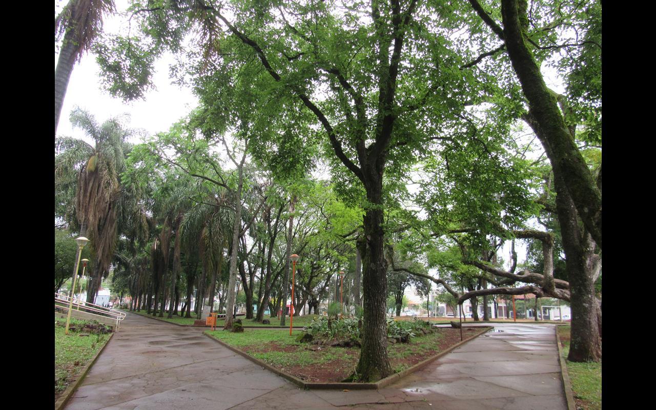 Praça Castelo Branco na zona norte de Santo Ângelo