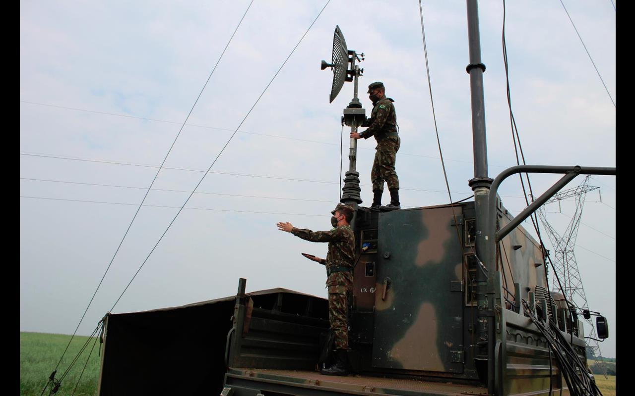 Operação Rondon em Santo Ângelo - Foto Sec Com Soc /1º B Com