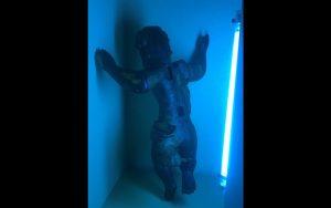 Querubim Missioneiro em banho de UV (Copy)