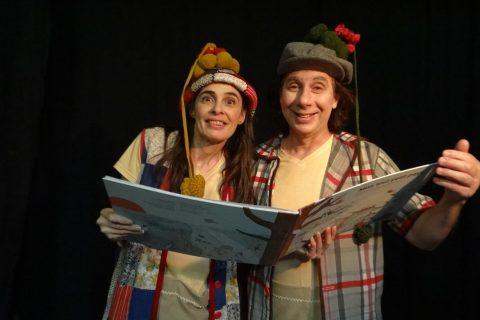 Maristela Marasca e Jerson Fontana - Foto: Divulgação do Grupo de Teatro A Turma do Dionísio