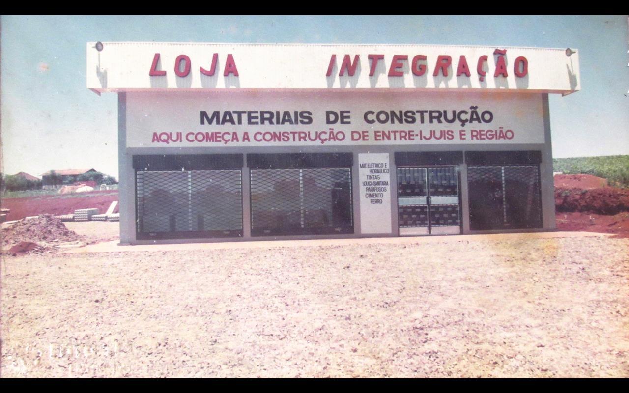 Lojas Integração de Entre-Ijuís há 30 anos