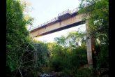 Ponte ferroviária sobre o Rio São João em Santo Ângelo - Foto: Isis Demeneghi