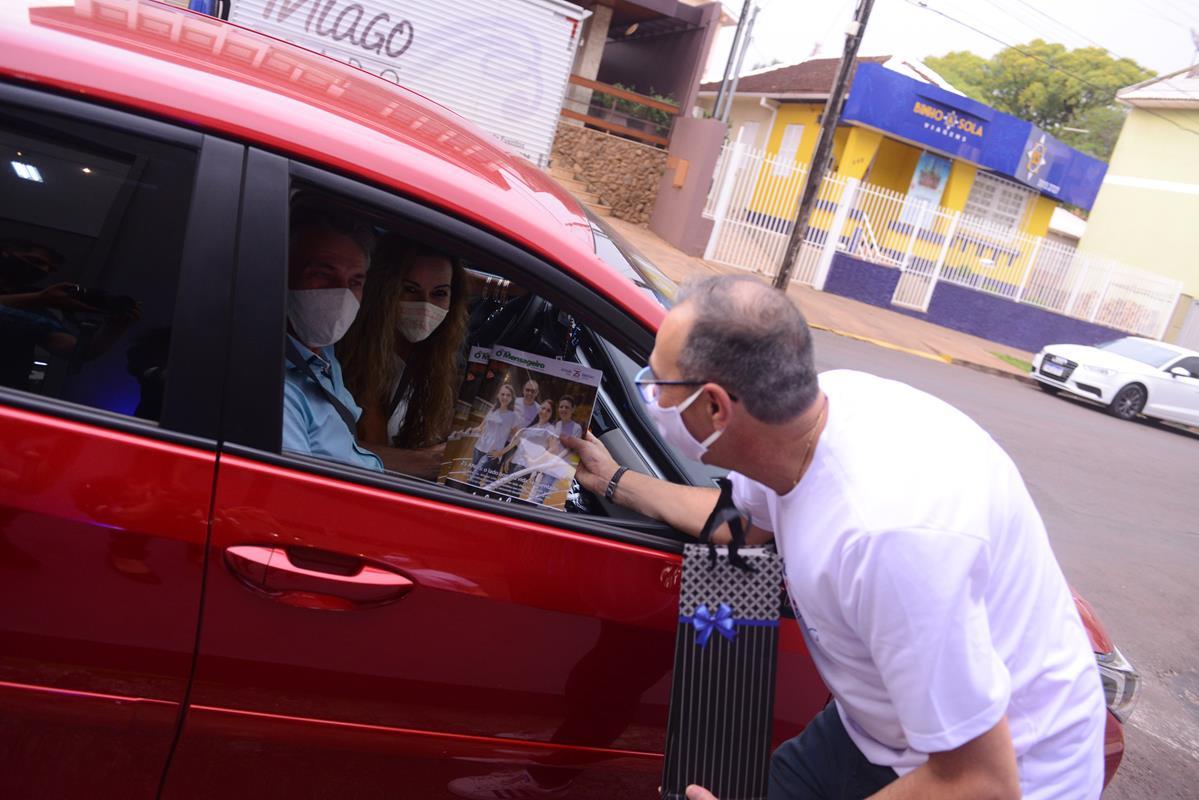 Drive-Thru de lançamento na Rua Marques de Tamandaré