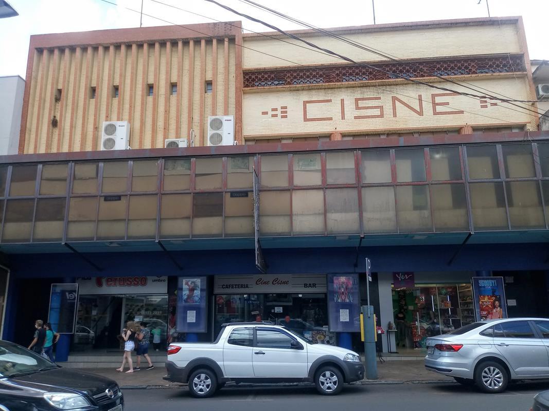 Fachada do Cinema Cisne de Santo Ângelo - Foto: Marcos Demeneghi