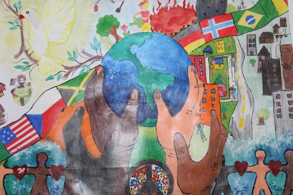 3º Lugar - Steffany Camargo, 11 anos, da 6º ano da Escola Municipal de Ensino Fundamental Marquês do Herval | Clube: Lions Clube Santa Rosa Centro