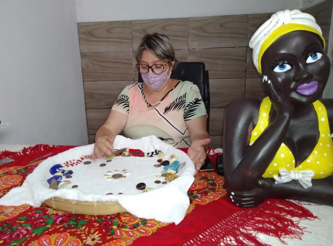 Ialorixá Mãe Jurema de Oxum