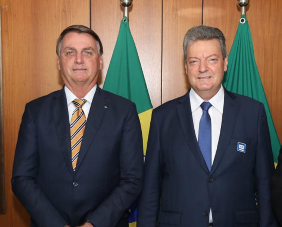 Jair Bolsonaro e José Roberto