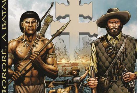 Ilustração de Clayton Cardoso, quadrinista que no mês de abril lançará a história de M'Bororé contada em quadrinhos.