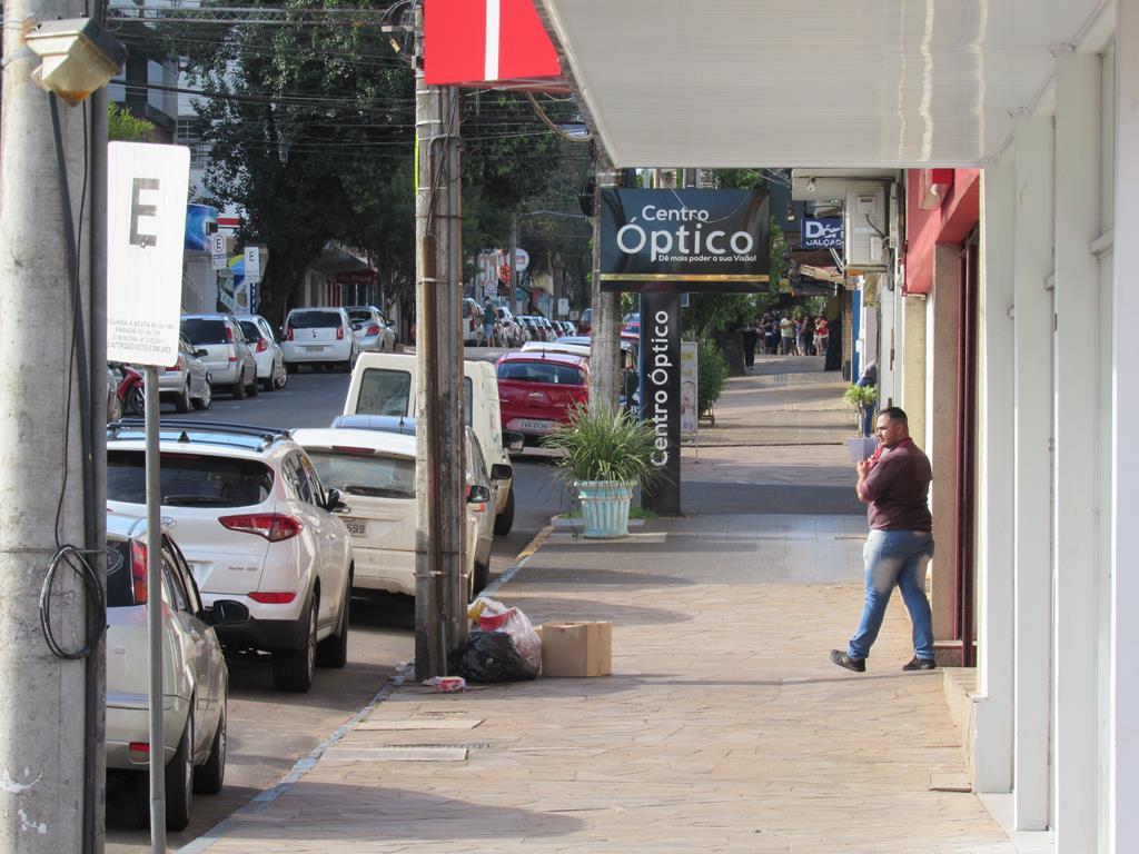 Ruas de Santo Ângelo na Bandeira Preta - Distanciamento controlado - Pandemia (1) (Copy)