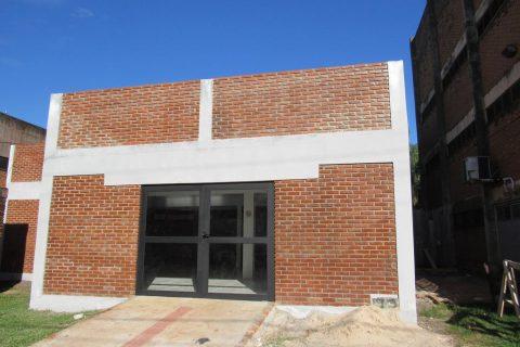 Nova sede da ASLE em fase de acabamento