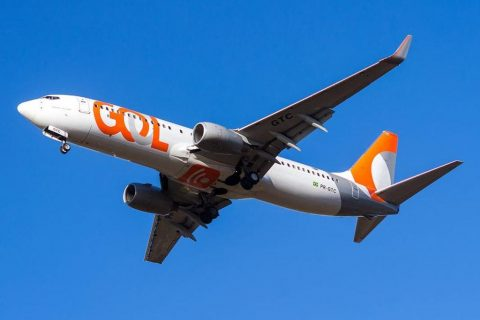 Foto: Gabriel Melo - Foto ilustrativa com a aeronave da Gol PR-GTC3