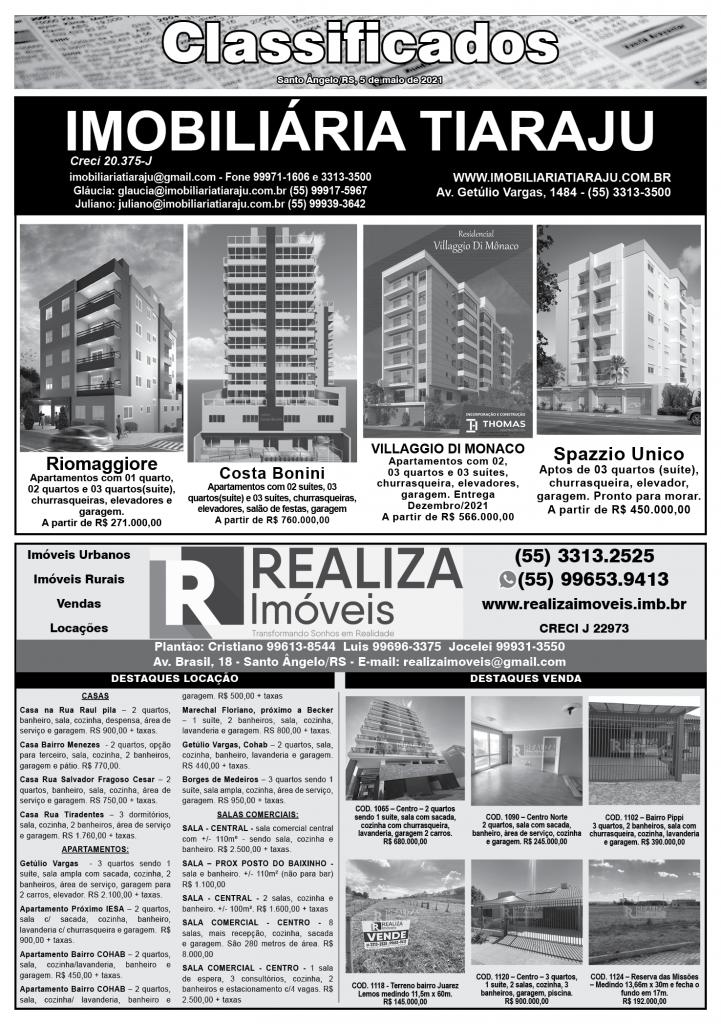 Jornal O Mensageiro - 05/05/2021 - Jornal e Revista O ...