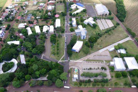 Vista aérea da URI - Campus de Santo Ângelo