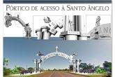 Portico de entrada de Santo Ângelo - Tadeo Martins (Copy)