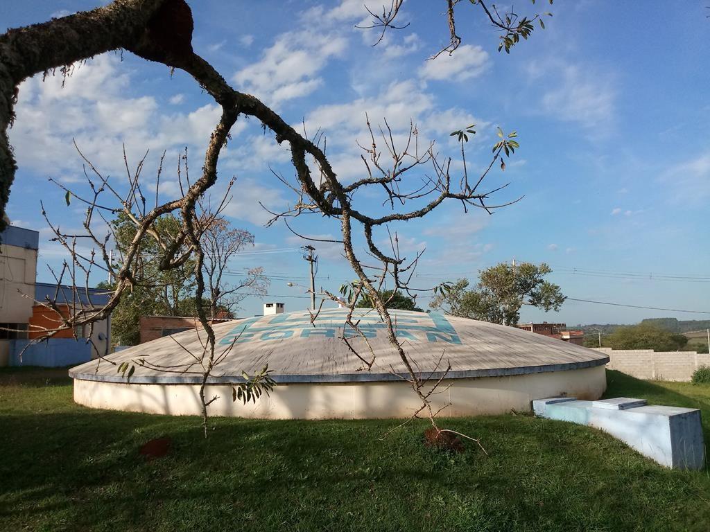 Reservatório semienterrado da ETA II - Foto: Marcos Demeneghi