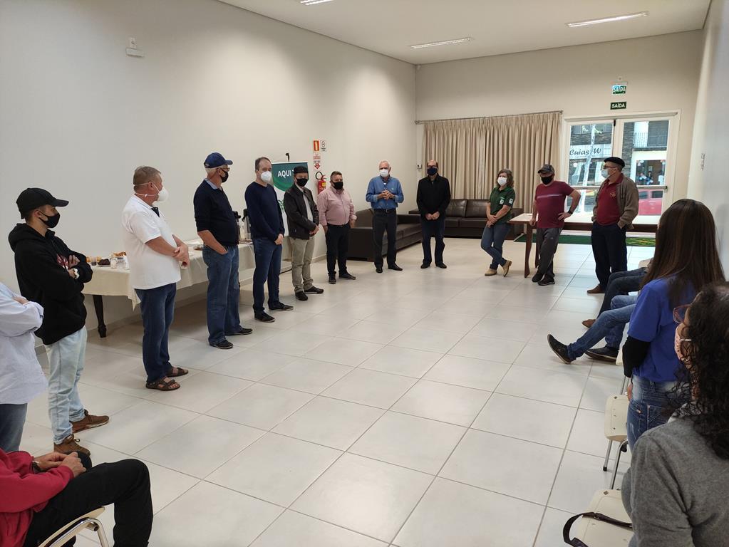 Abertura do curso no Sindicato Rural de Santo Ângelo