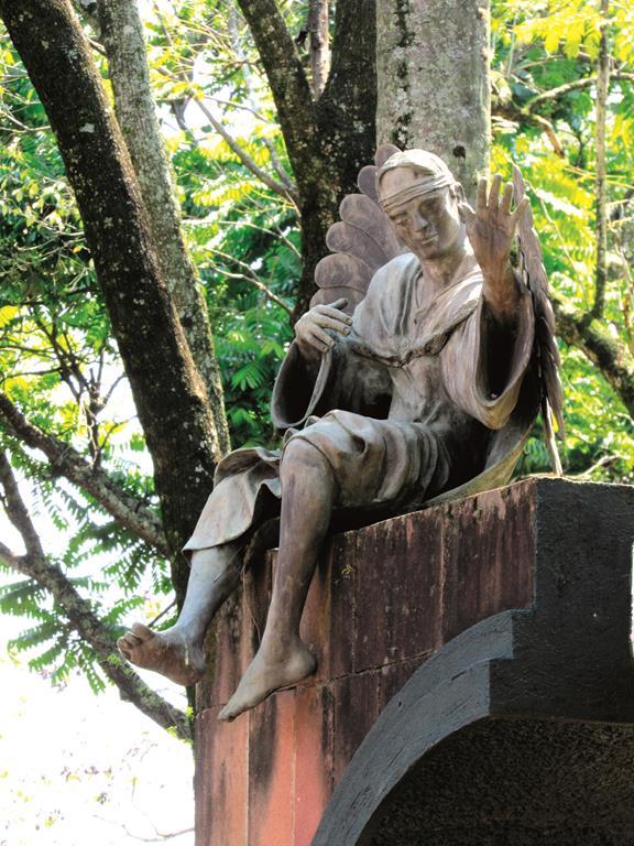 Anjo da Guarda Missioneiro na Praça Pinheiro Machado