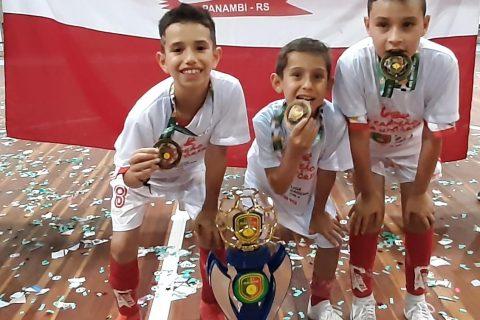 Gabriel Steinke Faustino, Miguel Krieger e Henry dos Santos Silvello