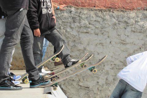 Foto ilustrativa capturada no Circuito Gaúcho de Skate AM em Sarandi no ano de 2011 - Foto: Marcos Demeneghi